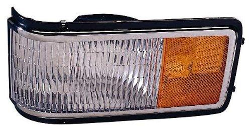 Depo 332-1563L-US Cadillac Fleetwood/DeVille Driver Side Replacement Corner/Side Marker Light Unit