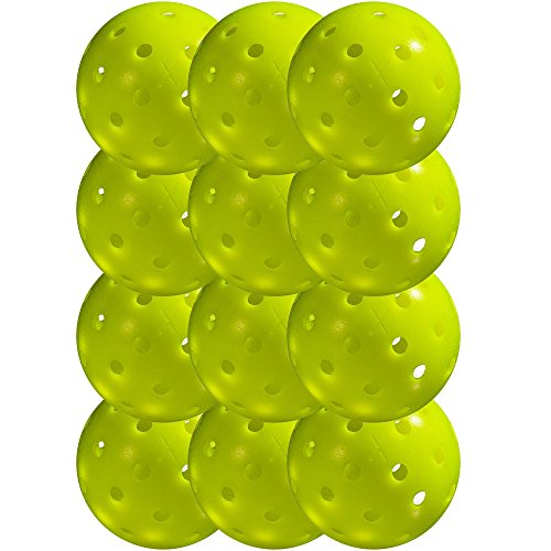 Franklin Sports x-40 Performance Outdoor Pickleballs - Usapa Approved (12 Pack)