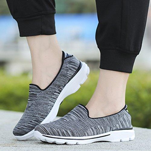 de a Bohemia Zapatos Impreso Respirable Zapatillas Antideslizante Lona Casuales de Zapatos Mujeres Deporte Loafer Cu Cayuan C YwqFP1zz