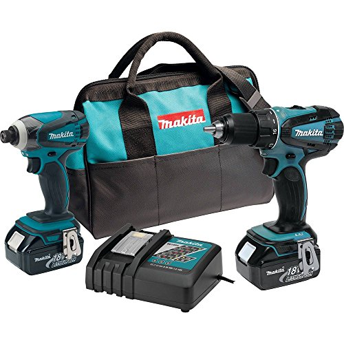 Makita XT260 18-volt LXT Lithium-Ion Cordless Combo Kit, 2-Piece