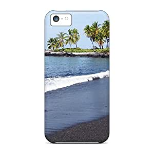 Iphone Covers Cases - Honomalino Beach Protective Cases Compatibel With Iphone 5c