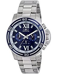 Invicta Men's 15057 Specialty Analog Display Japanese Quartz Silver Watch
