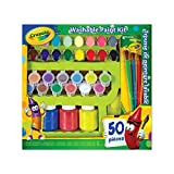 Crayola Washable Paint Kit,  School, Craft, Painting and Art Supplies, Kids, Ages 3,4, 5, 6 and Up, Holiday Toys, Stocking Stuffers, Arts and Crafts