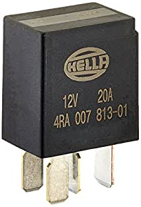 Amazoncom HELLA 933766111 MICRO Relay 12V 20A SPST RES Automotive