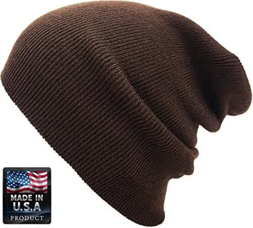 eafd41fc5c2dd KBETHOS Made In USA - Thick Beanie Skully Slouchy   Cuff Winter Hat
