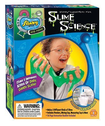 5 Pack POOF PRODUCTS INC./SLINKY SLIME SCIENCE MINI LAB