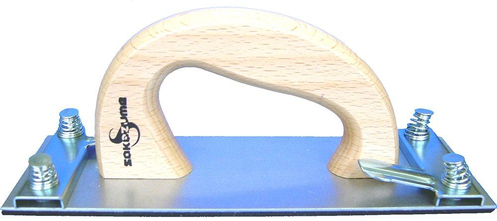 sakazume ハンドサンダー クリップ式 木柄 70×200mm