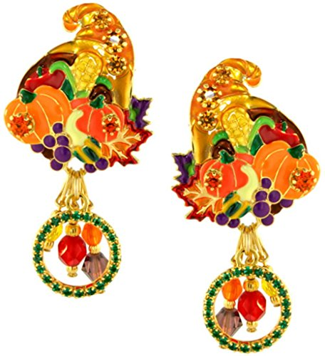 Horn Clip Earrings - 5
