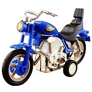 TOOGOO(R) Plastic Motorcycle Toy Model Hobby Toys Replace Kids Gift Boys & Girls Random (Size: 2)