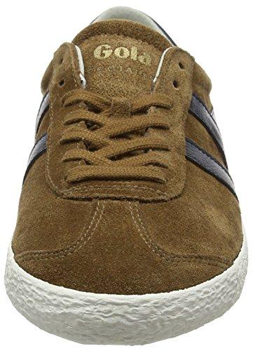 Gola Mens Specialista Moda Sneaker Tabacco / Navy
