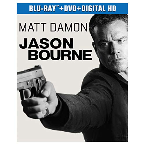 JASON BOURNE Limited Exclusive Edition Fold Out Neo-pack/Digipack with Booklet (Blu-ray DVD Digital HD) ()