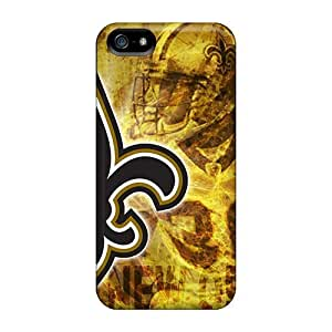 MEIMEIFashionable Uwz3034bQfh Iphone 5/5s Case Cover For New Orleans Saints Protective CaseMEIMEI