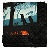 Nicki's Diapers Bamboo Cuddle Blanket, Into The Woods (48''x48'')