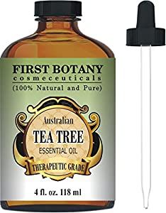 First Botany Cosmeceuticals Australian Tea Tree Oil, 4 fl. oz. with Glass Dropper