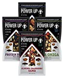 Cheap Power Up Trail Mix Variety Pack (8 individual snack bags) Protein Packed, Antioxidant Mix, Almond Cranberry Crunch, Mega Omega
