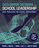 Data-Driven Decisions and School Leadership 1st Edition