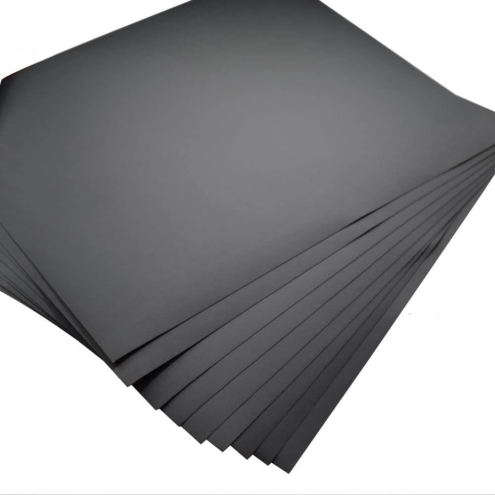 5/Blatt Schleifpapier K/örnung 800/Wasserfestes Papier 22,9/x 27,9/cm Wet//Dry Siliziumkarbid