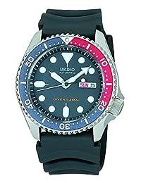 SEIKO Black Men's model SKX009KC overseas reimportation watch