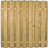 AVANTI TRENDSTORE - BELLUNO 1 - Recinto con aste in legno di pino massiccio, autoclave, ca. 180x180 cm