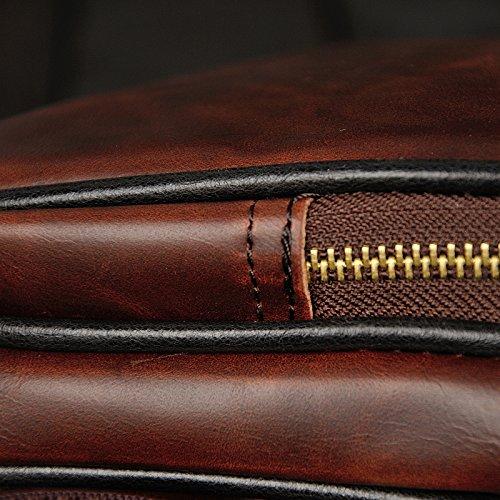 Marrón hombro para hombre marrón Bolso al NUBEN marrón wSUOXCx
