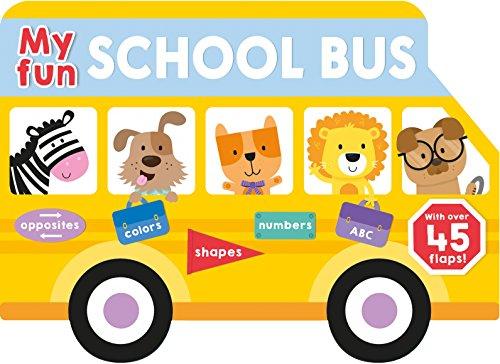 My Fun School Bus Lift-the-flap (Lift-the-Flap Tab Books)