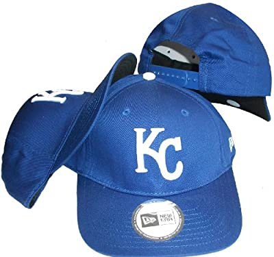 Kansas City Royals Blue Low Profile Snapback Adjustable Plastic Snap Back Hat / Cap Small/Medium