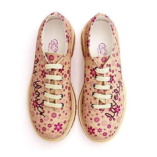 Lovely Lovely Tmk6505 Flower Oxford Shoes Tmk6505 Shoes Lovely Oxford Flower 5AwxBqzXW