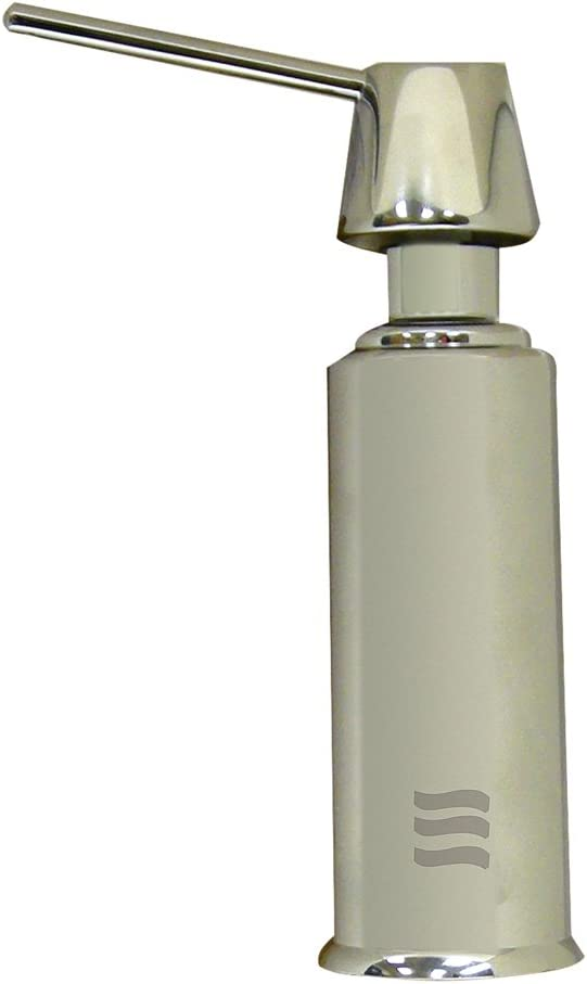 Danco 89503 Air Gap Soap Dispenser with Stright Nozzle, Brushed Nickel