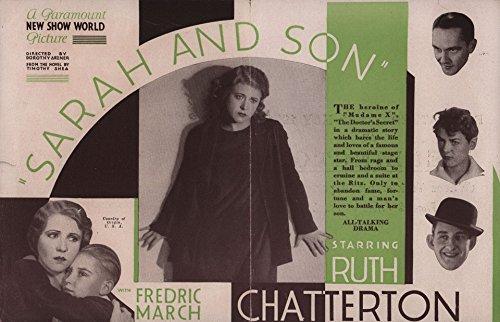 Sarah and Son 1930 U.S. - Herald S