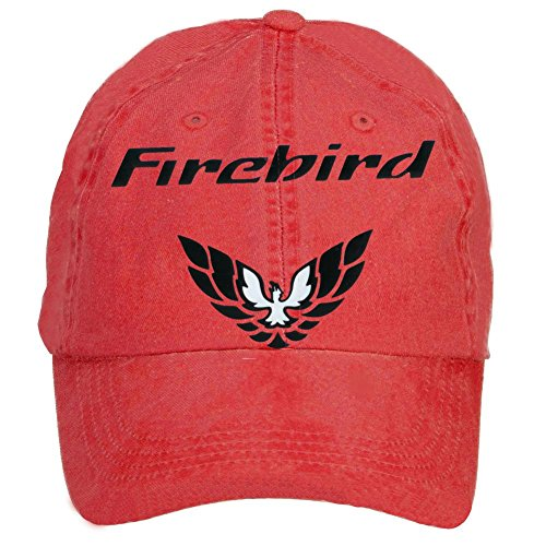 Niceda Unisex Pontiac Firebird Logo Sun Visor Baseball Caps