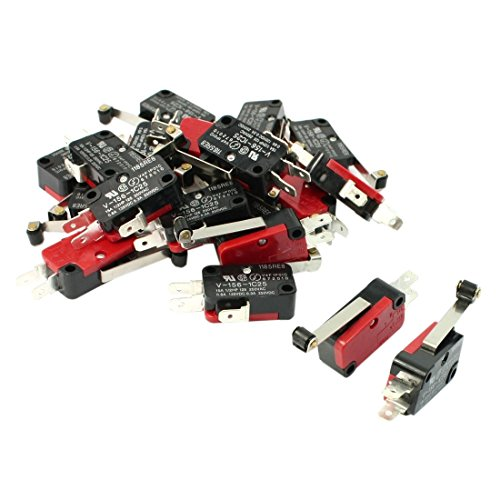 Micro Switch - TOOGOO(R) 20 Pcs Mini Micro Limit Switch Long Roller Lever Arm SPDT Snap Action