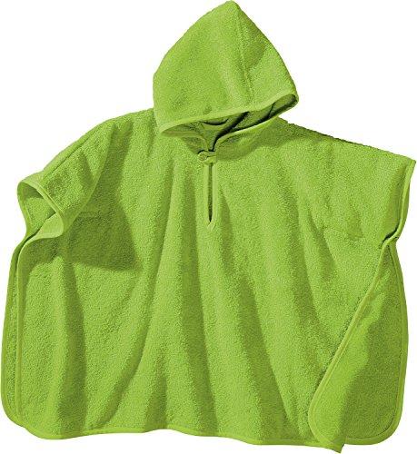 Baby Butt Poncho Frottee apfelgrün Größe 50x70 cm