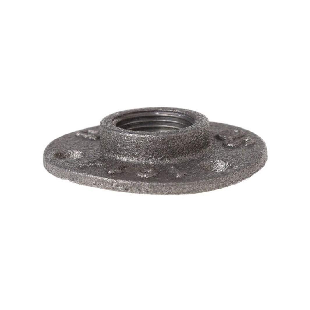 Soporte de pared industrial para tuber/ía de hierro con rosca maleable T390