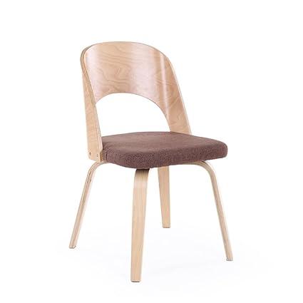 LRSFGAP CYJZ Sedia, Sedia da pranzo in legno massello per adulti ...