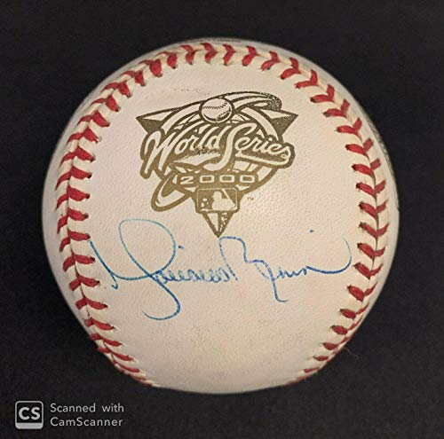 Mariano Rivera Autographed Baseball - Official 2000 World Series Certificate - JSA Certified - Autographed ()