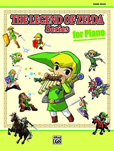The Legend of Zelda Series for Piano Piano Solos (Tapa Blanda)