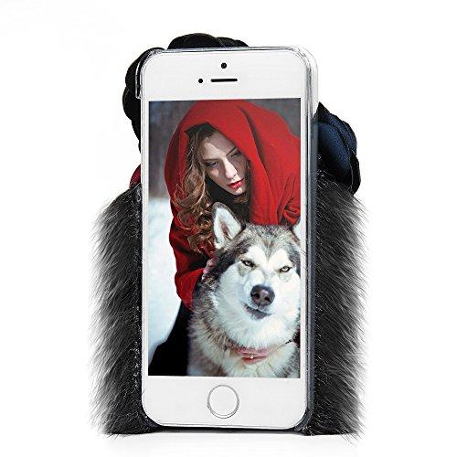 Mavis's Diary Coque iPhone 5/iPhone SE PC Rigide Housse de Protection Complet Étui Téléphone Portable Phone Case Cover Personnalisé Pratique Rose