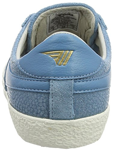 Women's Gola Specialist Trainers Dusky Blue Crackle Blue wf440rqxd