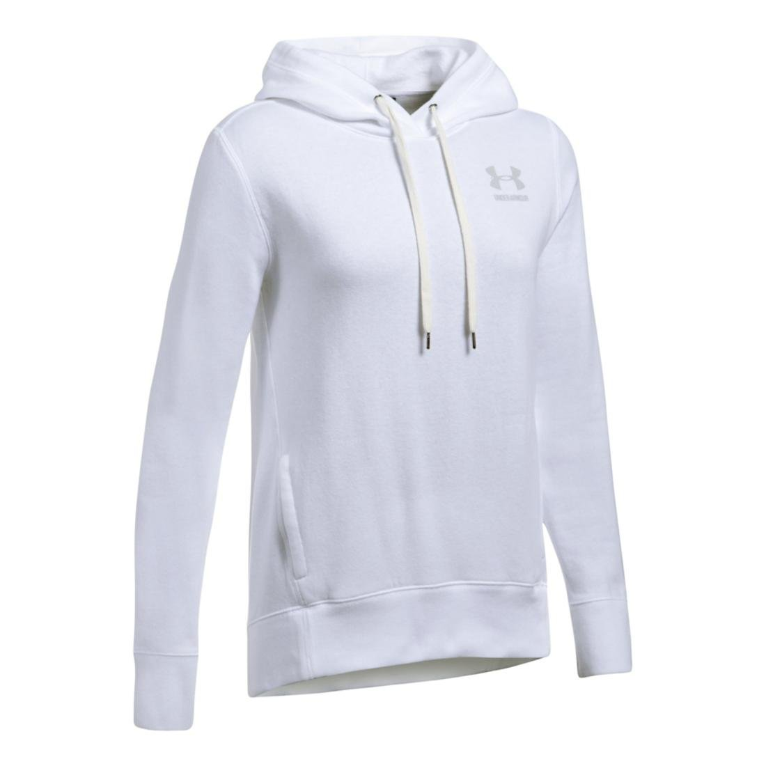 Under Armour Women's Favorite Fleece Big Logo Hoodie Under Armour Apparel 1302045