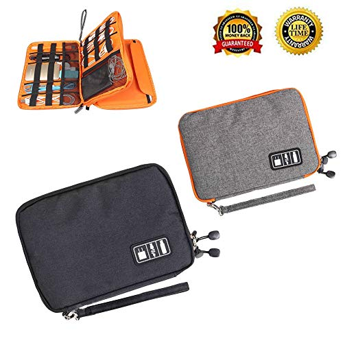 Electronics Travel Organizer ,Travel Cable OrganizerUniversal Electronic Cables, USBFlash Drive, Memory Cards,Earphone and More