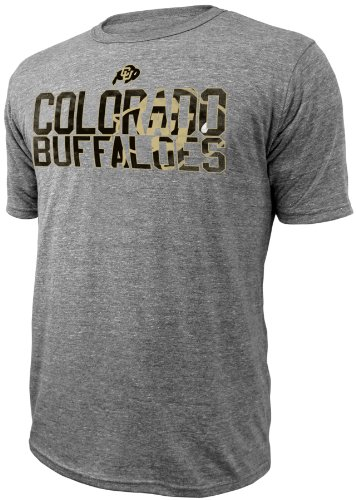 NCAA Colorado Buffaloes Men's Legend T-Shirt, Small, Charcoal