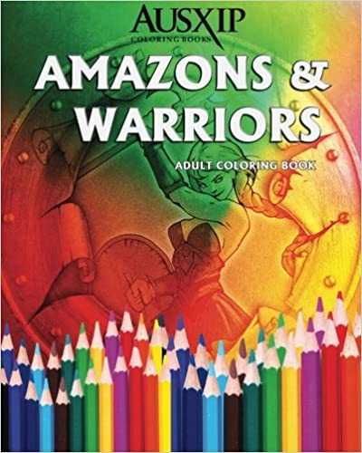 s /& Warriors Adult Coloring Book