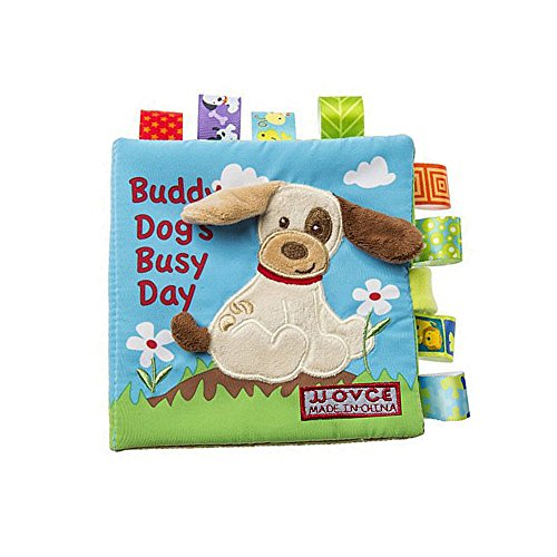 Youtop Soft Activity Book for Baby Toddler Early Education - Puppy