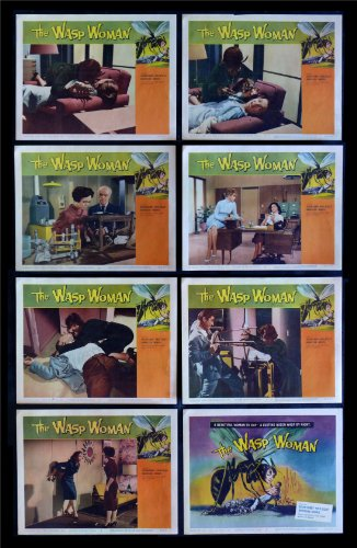 The Wasp Woman Lobby Card Set Movie Posters