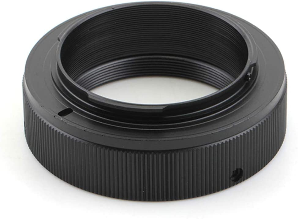 T2 - Adaptador de objetivo a cámara réflex digital Olympus OM 4/3 ...