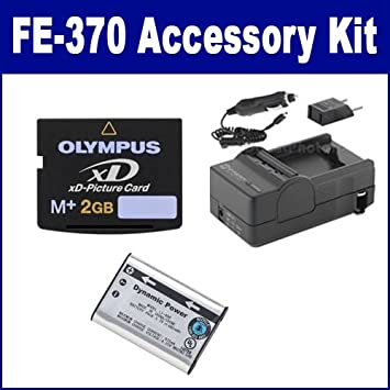 Amazon.com: Kit de accesorios de cámara digital Olympus FE ...
