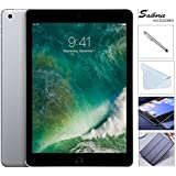 Apple iPad 9.7 Retina Display with Saiborie 49.99 Value Bundle, 2017 5th Gen 32GB, M9, Wi-Fi, MIMO, Bluetooth, Apple iOS 10 (Space Gray)
