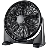 Super Cool Portable Floor Fan 20 Inch Black