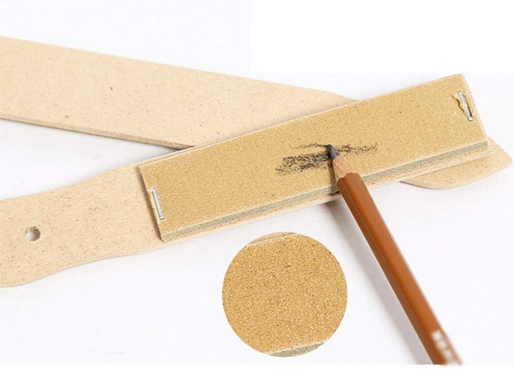 Artibetter 7pcs Artista Blending Stump Pencil Sharpening Sketch Pencil Sandpaper Board Artistic Drawing Tool