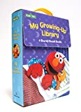 img - for My Growing-Up Library: Sesame Street Board Books- Too Big for Diapers / Big Enough for a Bed / Too Big for Bottles / Big Enough for a Bike book / textbook / text book